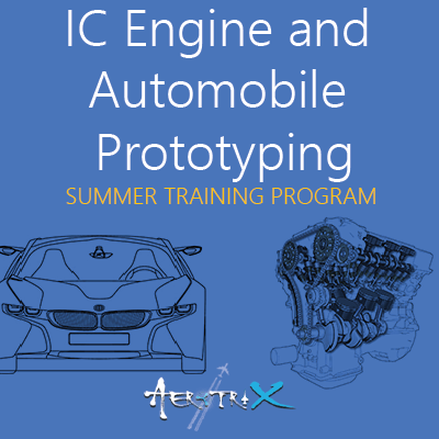 Summer Training Program on IC Engine and Automobile Prototyping Automobile at Skyfi Labs Center  Workshop