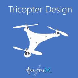 Tricopter Design Workshop Aeromodelling at Conscientia'15, IIST Workshop