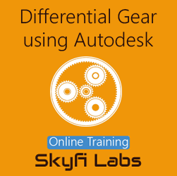 Differential Gear Design using Autodesk Inventor Online Project-based Course
